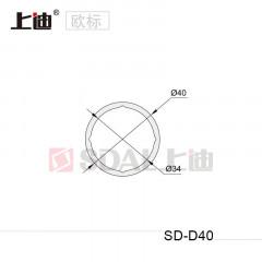 SD-D40平台扶手型材