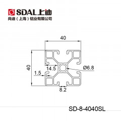 SD-8-4040SL【壁厚:1.5MM】