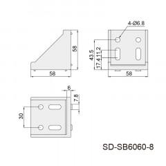 强力角件 SD-SB