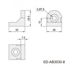 转向角件 SD-AB