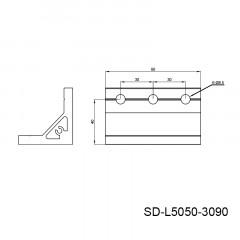 型材角件 SD-L5050