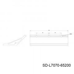 135度型材角件 SD-L7070-10槽