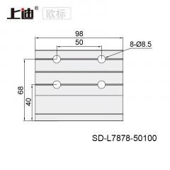 强力型材角件 SD-L7878-10槽