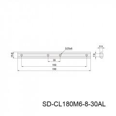 槽条连接件 SD-CL180