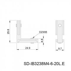 角槽连接件 SD-IB3238