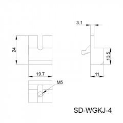 网格卡件 SD-WGKJ-4