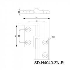 金属合页 SD-H
