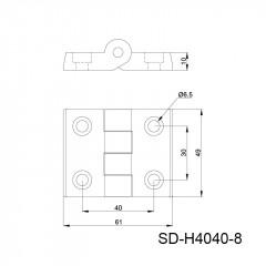 尼龙合页 SD-H