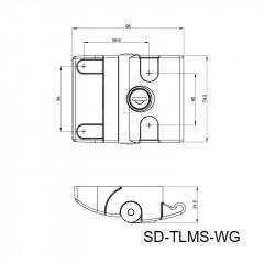推拉门锁 SD-TLMS-WG