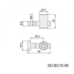 内置内连接件 SD-BC