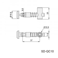 斜角连接件 SD-QC