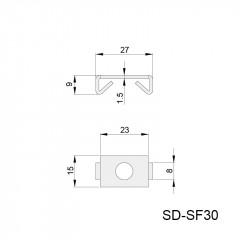 弹性扣件 SD-SF