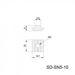 方形螺母块 SD-SN