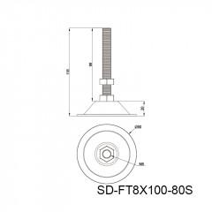 金属蹄脚 SD-FT