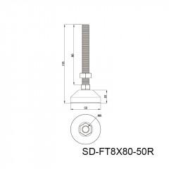 尼龙蹄脚 SD-FT